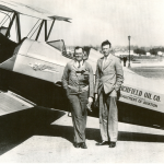 Lindbergh and Steele April 2, 1930