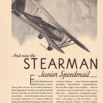 Original Stearman Advertisement