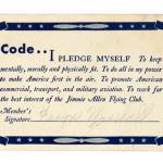 Jimmie Allen Cadet Code 1930s