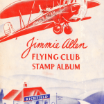 Stamp Album for Aircraft Stickers